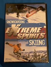 RARE EXTREME SPORTS SNOWBOARDING / SKIING Dvd Brand New And Factory Sealed