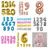 "42"" Giant Foil Number Rose Gold Balloons Birthday Wedding party HELLIUM Baloon"