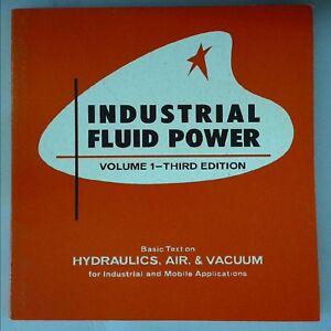 Industrial Fluid Power Volume 1 by Charles S Hedges, Robert C Womack B4