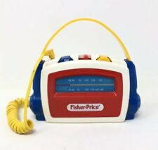 Vintage Fisher Price AM/FM Stereo Radio with Headphones 1991 3831
