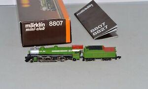 Z Scale Marklin 8807 2-8-2 Mikado Southern 4501 Steam Locomotive LNIB