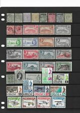 2 scans-Collection of mostly good used Gibraltar stamps.