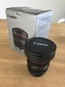 Canon EF 8-15mm F/4.0 L EF USM Lens