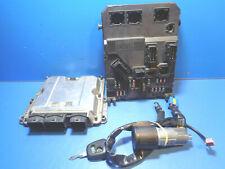 PEUGEOT 206 2.0 HDI 90CV KIT CALCULATEUR MOTEUR BOSCH 0281010594 - 9642013980