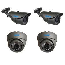 4 X CCTV Camera 800TVL 960H High Resolution 20 METER Infrared Vandalproof