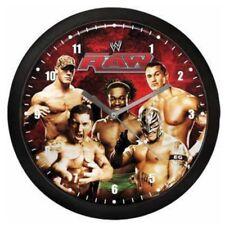 Horloge murale catch WWE RAW ROUGE