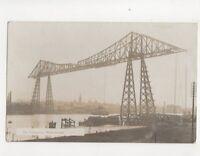 The Transporter Middlesbrough [6728] Vintage RP Postcard 135b