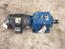 Textron Cone Drive M072256.BANRI 2-Hp Ratio-56:1 With Baldor Motor VM3587T 2-Hp