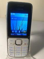 Nokia C2-01 - White Black (Unlocked) Mobile Phone