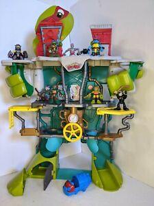 Teenage Mutant Ninja Turtles Half Shell Heroes Playset Imaginext Bundle TMNT