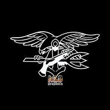NAVY SEAL Vinyl Sticker Design Mal Ad Osteo  Frogman MILITARY USA PROUD AMERICAN