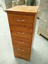 BRAND NEW Wood Storage Cabinet 5 Bedroom Drawers Wooden File Tool Box