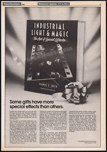 INDUSTRIAL LIGHT & MAGIC__Orig. 1986 Trade AD_book promo__Art of Special Effects