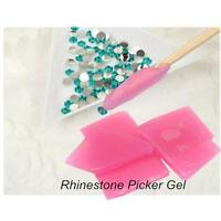 Silicone Nail Art Rhinestones Picker Gel Cube Gel Gem New Nail  Tool