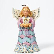 Jim Shore Pint Sized Angel w/Candles Figurine ~Love Lights The Season~ 4041083