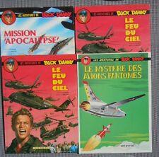 Les aventures de Buck Danny lot de 4 BD Le feu du ciel Missions Apocalypse ++