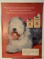 1954 Old Gold Cigarettes King Size - Magazine Ad