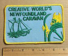 Creative World's Newfoundland Caravan Canada Souvenir Patch Badge