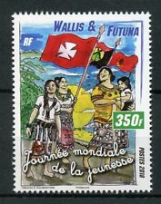 Wallis & Futuna 2018 MNH World Youth Day 1v Set Flags Cultures Traditions Stamps