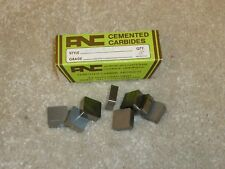 8 New ANC SNG 432  AN23 C2  Carbide Inserts