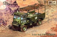 BEDFORD QL 4x4 FIRE TENDER (British Army MARCATURE) 1/72 IBG
