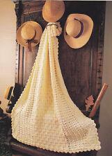 Crochet Pattern ~ ARAN ELEGANCE AFGHAN ~ Instructions
