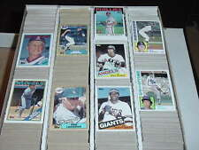 1984 1985 1986 1987 88 89 TOPPS LOT - YOU PICK (30) w/ STARS - COMPLETE YOUR SET