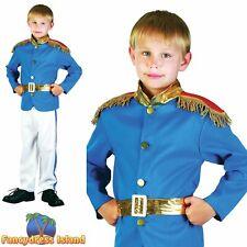 KIDS PRINCE CHARMING STORYBOOK FAIRYTALE - Age 3-10 - Boys Fancy Dress Costume