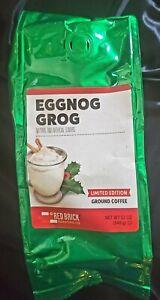 Red Brick Eggnog Grog Coffee