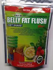 BELLY FAT FLUSH DIET WEIGHT LOSS SHAKE 16OZ