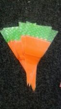 10Pcs Easter Carrot Candy/Easter Gift Bags  Cones Bags...1 Pack vgc
