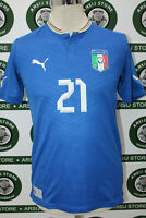 maglia calcio ITALIA PIRLO TG S shirt maillot camiseta trikot