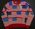 Polo Ralph Lauren Vintage Women's USA Fourth of July Knitted Sweater Size Small