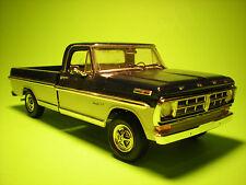 1971-FORD-RANGER-XLT-PICKUP-TRUCK-MOEBIUS-MODELS-KIT-1208 built model car truck
