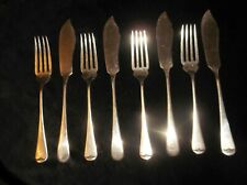 VINTAGE RETRO STAINLESS STEEL FISH EATERS CUTLERY MISMATCH SET VINERS STAYBRITE