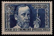 PASTEUR / Chômeurs Intellectuels, Neuf * = Cote 23 € / Lot Timbre France 333
