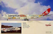 Boeing 747-8f Cargolux 1/200 Herpa 558228 45e Anniversaire 747 747-8