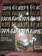 small gift box snap n store 8x4x 6 1/4 in