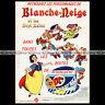 LA VACHE QUI RIT Fromage SNOW WHITE BLANCHE-NEIGE Disney 1973 Pub Ad #A1217
