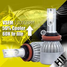 388W 38800LM XENTEC LED HEADLIGHT BULBS KIT H11 H9 6500K HIGH POWER LOW BEAM