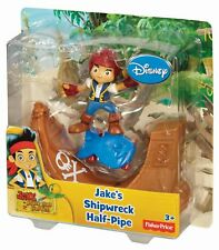 Fisher-Price Jake and the Never Land Pirates - Jake Skate Pack - New