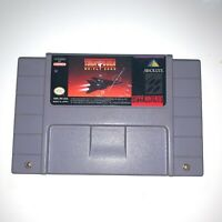 Turn and Burn: No-Fly Zone SUPER NINTENDO SNES Game Tested, Working & Authentic!