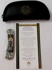 Franklin Mint Bat Masterson Collector Knife with Case and COA ***