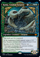 Koma, Cosmos Serpent - Showcase x1 Magic the Gathering 1x Kaldheim mtg card