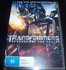 Transformers Revenge Of The Fallen Two 2 Disc (Aust Reg 4) Special edition DVD