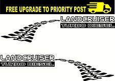 Landcruiser V8 TURBO DIESEL Decals Land cruiser 76 70 78 79 pair 400mm