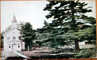 1909 Postcard: Union Church, Erected in 1834 - Tannersville, Pennsylvania PA