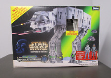 Imperial AT-AT Walker 1997 Electronic STAR WARS Power of the Force POTF MIB