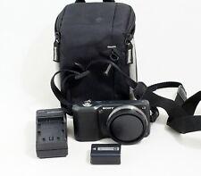 Sony Alpha NEX-3 14.2 MP Digital Camera Black Body ONLY 13K SHUTTER COUNT
