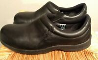 NEW Red Wing Women's 9D  Wide # 2333 Slip On Black Leather Work Shoes Steel